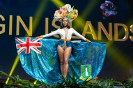 Ayana Phillips, Miss British Virgin Islands 2018 on stage during the National Costume Show, an international tradition where contestants display an authentic costume of choice that best represents the culture of their home country, on December 10th at Nongnooch Pattaya International Convention Exhibition (NICE). The Miss Universe contestants are touring, filming, rehearsing and preparing to compete for the Miss Universe crown in Bangkok, Thailand. Tune in to the FOX telecast at 7:00 PM ET live/PT tape-delayed on Sunday, December 16, 2018 from the IMPACT Arena in Bangkok, Thailand to see who will become the next Miss Universe. HO/The Miss Universe Organization