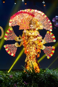 Marta Magdalena Stepien, Miss Canada 2018 on stage during the National Costume Show, an international tradition where contestants display an authentic costume of choice that best represents the culture of their home country, on December 10th at Nongnooch Pattaya International Convention Exhibition (NICE). The Miss Universe contestants are touring, filming, rehearsing and preparing to compete for the Miss Universe crown in Bangkok, Thailand. Tune in to the FOX telecast at 7:00 PM ET live/PT tape-delayed on Sunday, December 16, 2018 from the IMPACT Arena in Bangkok, Thailand to see who will become the next Miss Universe. HO/The Miss Universe Organization