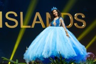 Caitlin Tyson, Miss Cayman Islands 2018 on stage during the National Costume Show, an international tradition where contestants display an authentic costume of choice that best represents the culture of their home country, on December 10th at Nongnooch Pattaya International Convention Exhibition (NICE). The Miss Universe contestants are touring, filming, rehearsing and preparing to compete for the Miss Universe crown in Bangkok, Thailand. Tune in to the FOX telecast at 7:00 PM ET live/PT tape-delayed on Sunday, December 16, 2018 from the IMPACT Arena in Bangkok, Thailand to see who will become the next Miss Universe. HO/The Miss Universe Organization