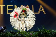 Mariana Garcia, Miss Guatemala 2018 on stage during the National Costume Show, an international tradition where contestants display an authentic costume of choice that best represents the culture of their home country, on December 10th at Nongnooch Pattaya International Convention Exhibition (NICE). The Miss Universe contestants are touring, filming, rehearsing and preparing to compete for the Miss Universe crown in Bangkok, Thailand. Tune in to the FOX telecast at 7:00 PM ET live/PT tape-delayed on Sunday, December 16, 2018 from the IMPACT Arena in Bangkok, Thailand to see who will become the next Miss Universe. HO/The Miss Universe Organization