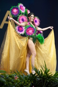 Francesca Mifsud, Miss Malta 2018 on stage during the National Costume Show, an international tradition where contestants display an authentic costume of choice that best represents the culture of their home country, on December 10th at Nongnooch Pattaya International Convention Exhibition (NICE). The Miss Universe contestants are touring, filming, rehearsing and preparing to compete for the Miss Universe crown in Bangkok, Thailand. Tune in to the FOX telecast at 7:00 PM ET live/PT tape-delayed on Sunday, December 16, 2018 from the IMPACT Arena in Bangkok, Thailand to see who will become the next Miss Universe. HO/The Miss Universe Organization