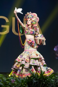 Adriana Paniagua, Miss Nicaragua 2018 on stage during the National Costume Show, an international tradition where contestants display an authentic costume of choice that best represents the culture of their home country, on December 10th at Nongnooch Pattaya International Convention Exhibition (NICE). The Miss Universe contestants are touring, filming, rehearsing and preparing to compete for the Miss Universe crown in Bangkok, Thailand. Tune in to the FOX telecast at 7:00 PM ET live/PT tape-delayed on Sunday, December 16, 2018 from the IMPACT Arena in Bangkok, Thailand to see who will become the next Miss Universe. HO/The Miss Universe Organization